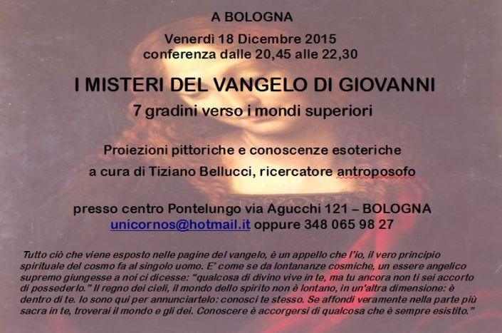 Vangelo Giovanni BOLOGNA