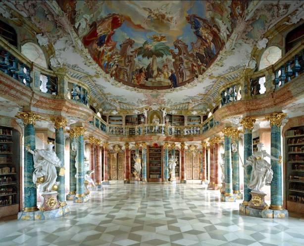 Wiblingen Monastary Library (Ulm, Germany)